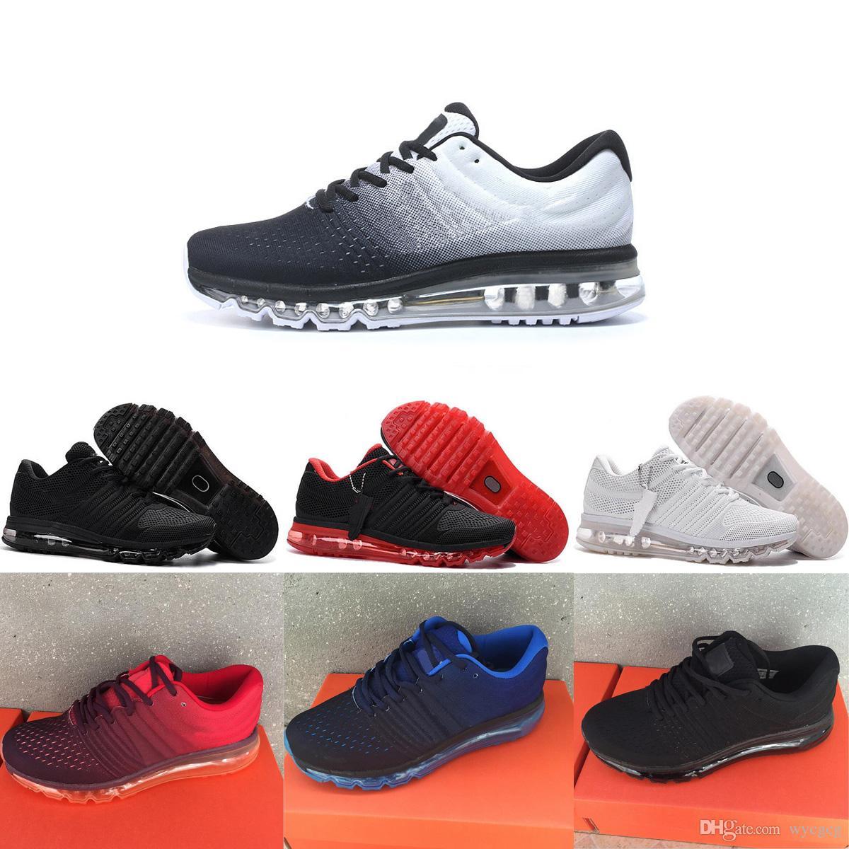 promo code 99098 30c99 Acheter Nike Air Max 2017 Airmax 2017 Nouveau Maxes 2018 KPU II Prix  Discount Hommes Femmes Chaussures De Course Avec Top Qualité Mode Sports De  Plein Air ...