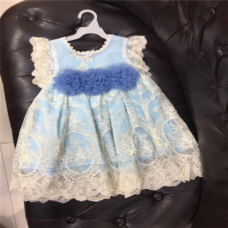 0cb50ae62a3 2019 2018 Baby Girls Clothing Newborn Girls Dress England Style Lace  Dresses Birthday Party Dresses Kids Princess Christmas Dress Costume From  ...