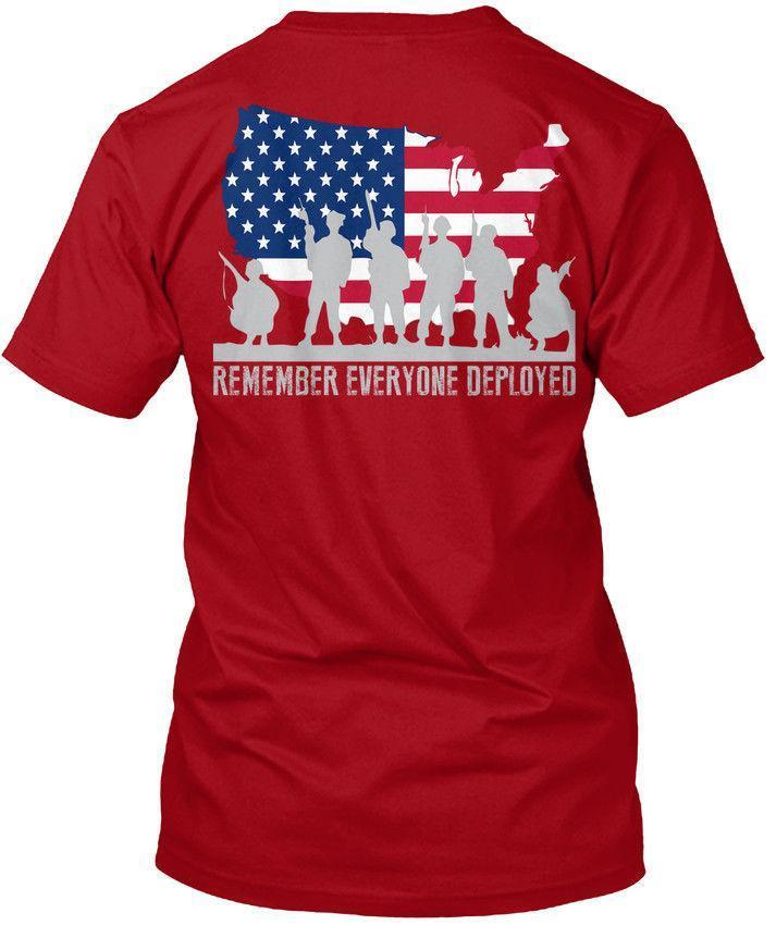 6bac8001f9c American Veteran Us Flag Red Friday Rer Remember Wholesale Cool Casual  Sleeves Cotton T Shirt Fashion New T Shirts Tagless Tee T Shirt Mens T  Shirts Funny ...