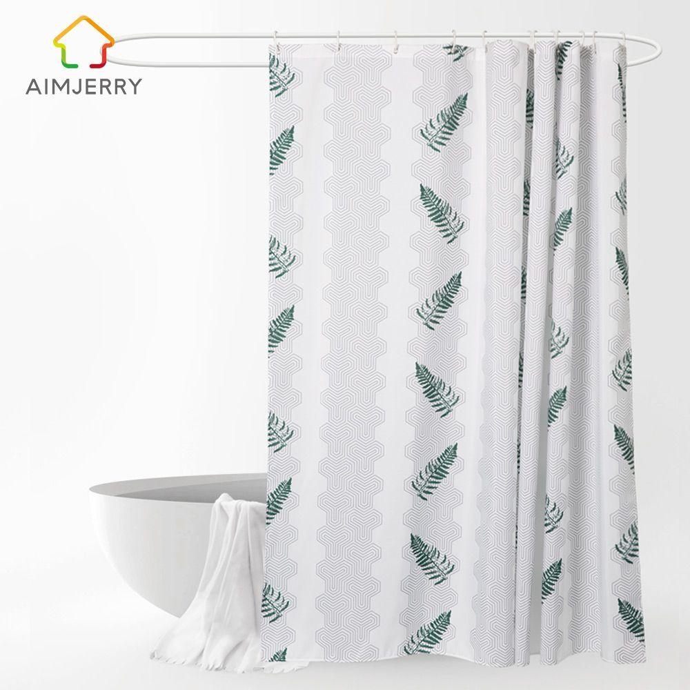 duschvorhange fur badewannen textil, großhandel aimjerry grün lässt kundenspezifischen duschvorhang, Innenarchitektur