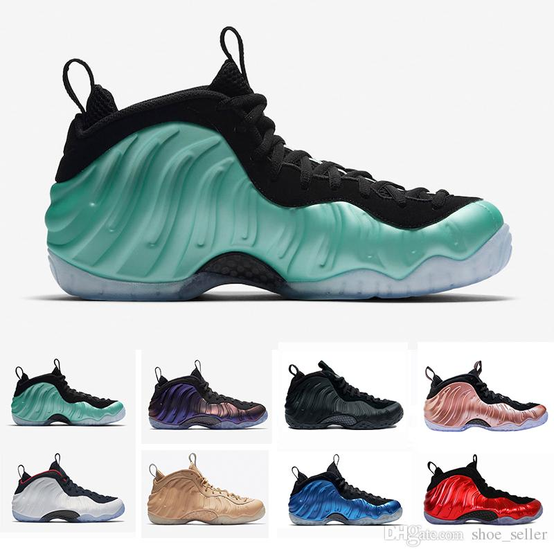 f964553d5b2c4 2018 Penny Hardaway Mens Basketball Shoes Alternate Galaxy Legion Green Air  Eggplant Maroon Foams Athletic Sport Sneakers US 41 47 Sports Shoes For  Women ...