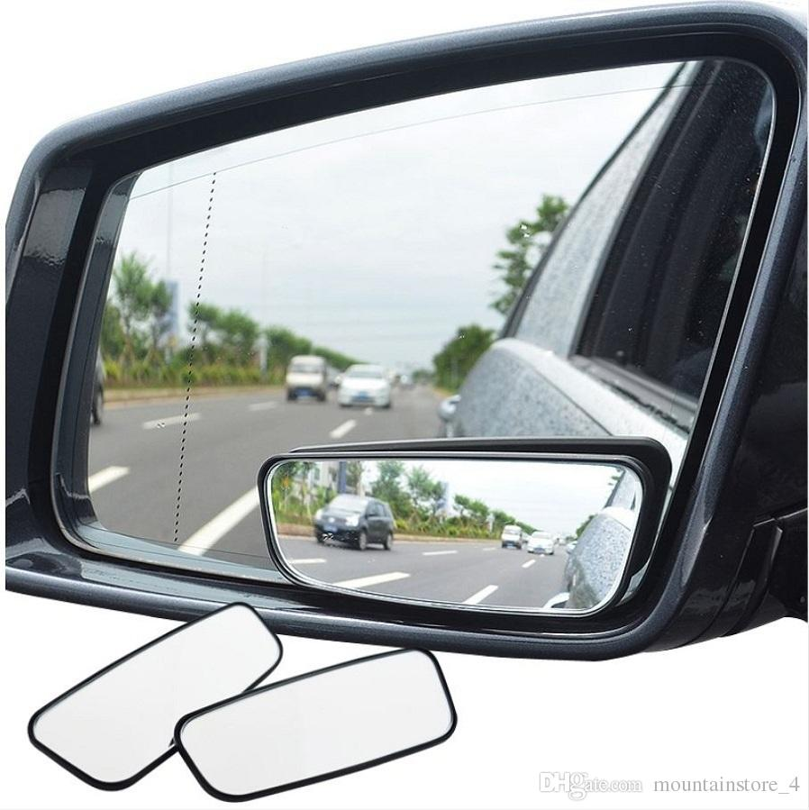 1 Pair Blind Spot Mirror Wide Angle Mirror 360 Degree Adjustable Convex Rear View Mirrors Car mirror for All Universal Vehicles (Retail)