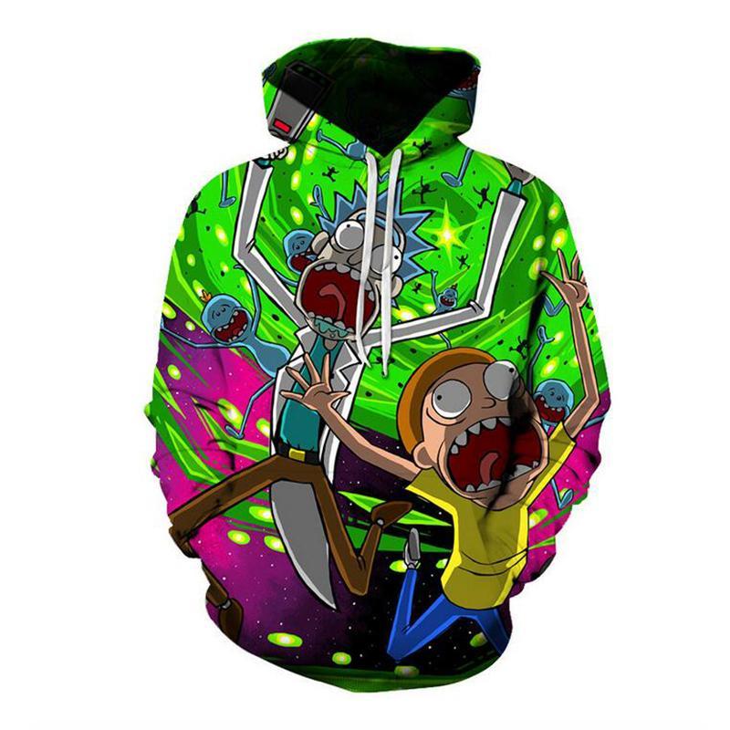 3f55196a55e Cloudstyle New Fashion Cartoon Hoodies Men Thin 3d Sweatshirts With ...