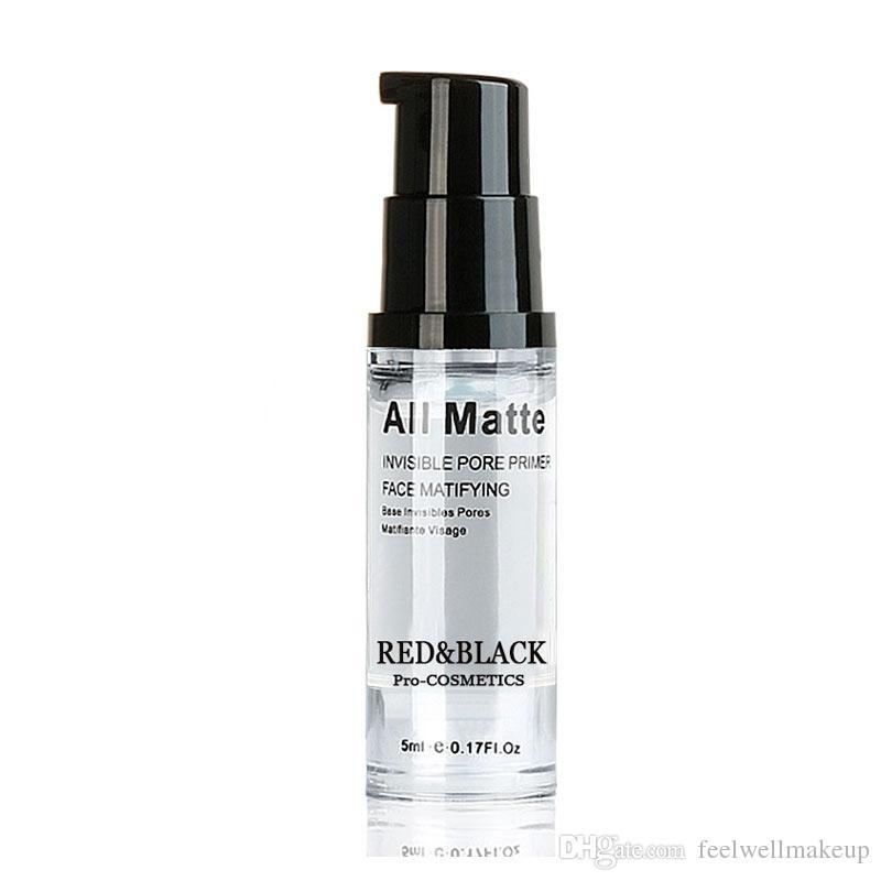 RedBlack Face Base de Maquiagem Natural Invisible Pores Base de Primer Facial matifiante Skin Oil-control 5ml Cosméticos