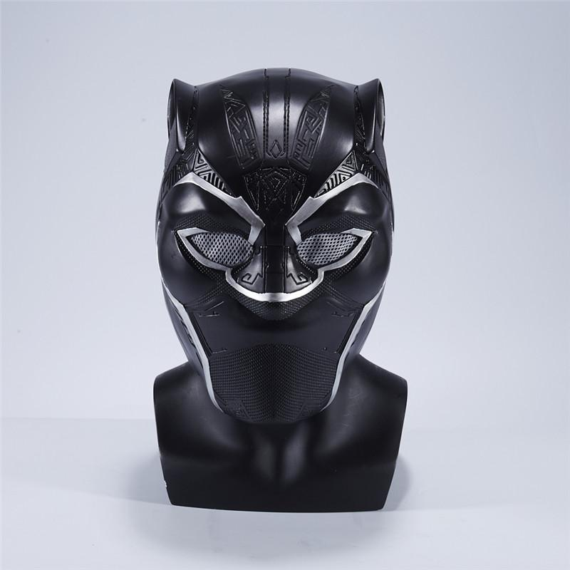 New Moive 2018 Black Panther Helmet Mask Movie Captain America Civil