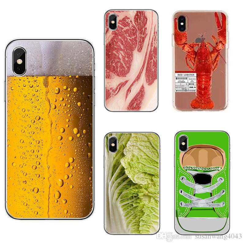 buy online 577cc fc581 Creative Designer Phone Case for Iphone X XR XS Max 8 7 6 6s plus 5s S7  note9 S9 Soft TPU Cover Painting Defender Cases Hull GSZ398