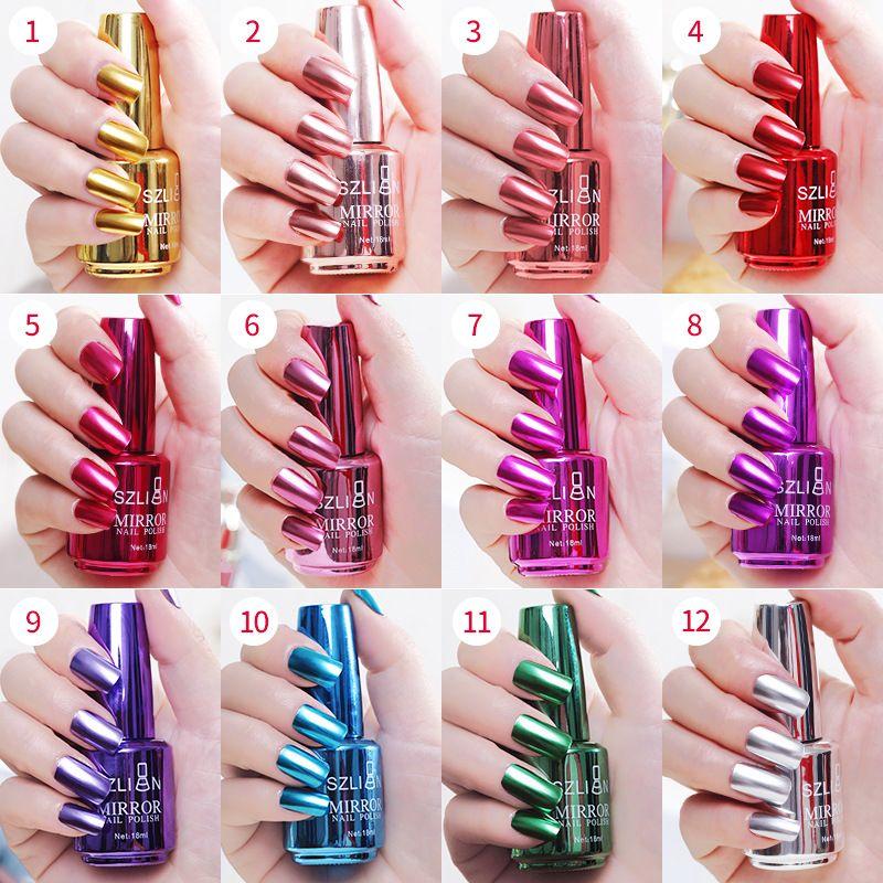 42659a1f92 Esmalte De Uñas Espejo Esmalte De Uñas Metálico De Acero Inoxidable Para La  Decoración De Moda Como El Regalo es Opcionales Por Beautyfashion2000, ...