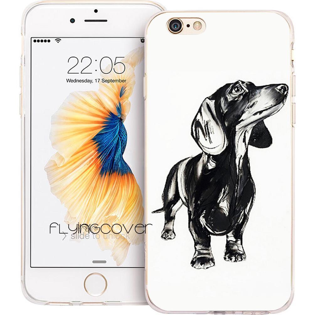 dachshund iphone 8 plus case
