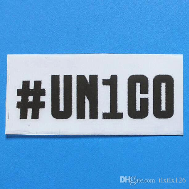 2018/2019 UN1CO Sponsor for Serie A font soccer patch UN1CO sleeve Sponsor badge