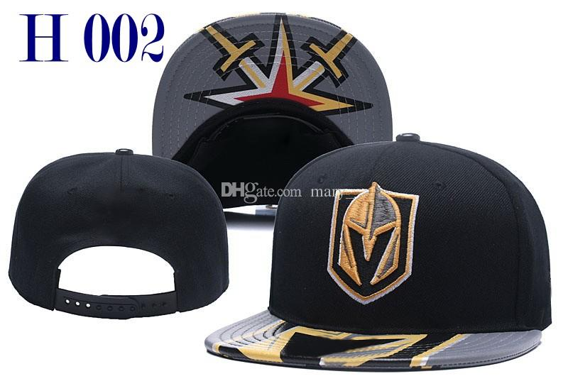 2018 New Vegas Golden Knights Snapback Caps Men Women Ice Hockey Cap  Fashion Team Hats Mix Match Order All Caps Top Quality Hat Golden Knights  Hat Snapback ... 9bb154a6b16