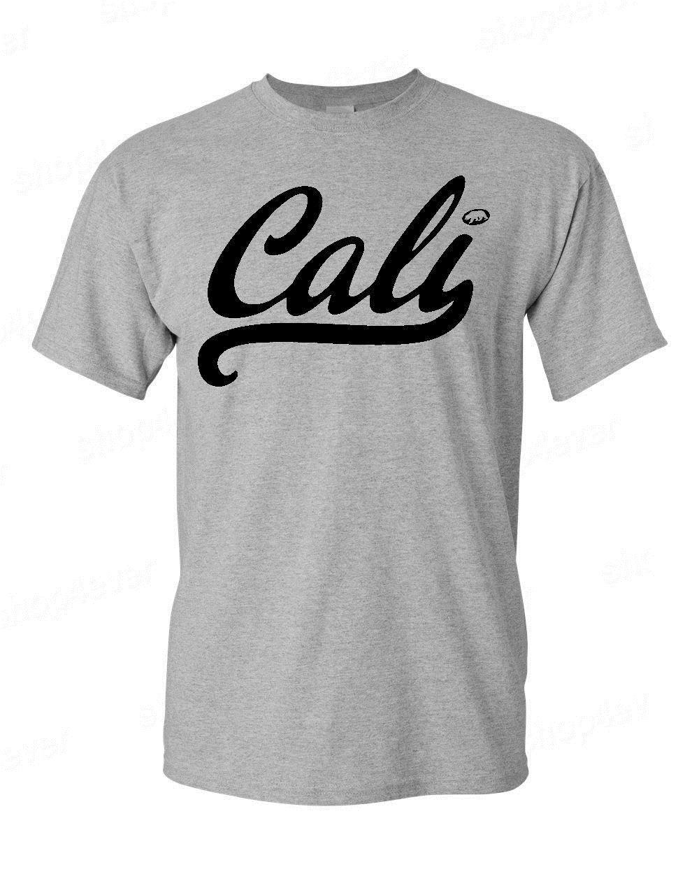 Quality T Shirts Printing T Shirt Short O Neck Christmas Cali Black