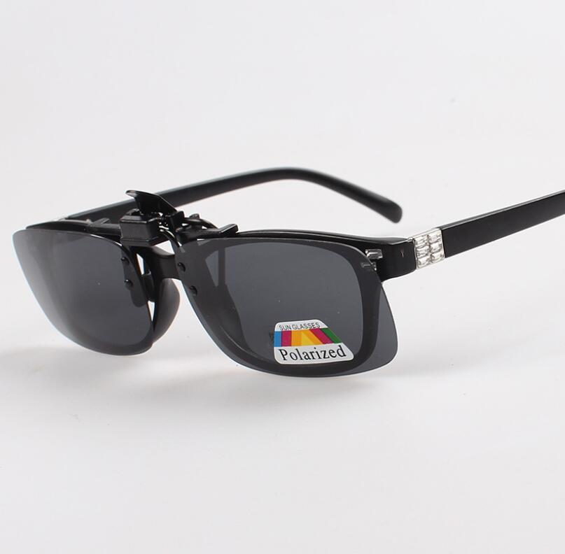 Nueva Moda Clip-on Gafas Polarizadas Gafas Día de Visión Nocturna Clip-on Gafas de Sol Gafas de Conducción envío gratis 200 unids