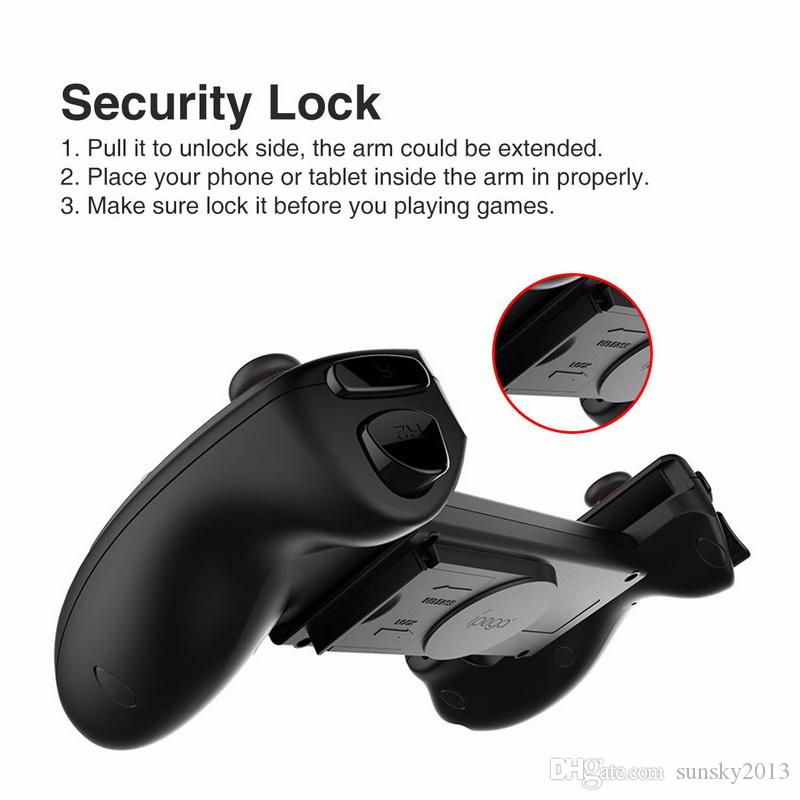 iPEGA PG-9083 Wireless Bluetooth Gamepad Telescopic Game Controller For Android IOS Phone/Pod/Pad Windows PC Gamecube Joystick with Holder