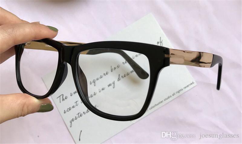 957a1d3438ea Wholesale New Fashion Designer Optical Glasses 0491 Black Plate ...