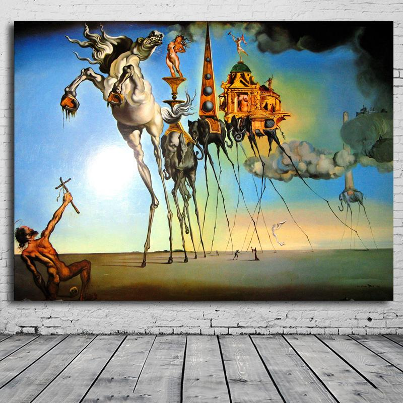 2019 hot sall salvador dali paintings rose the best. Black Bedroom Furniture Sets. Home Design Ideas