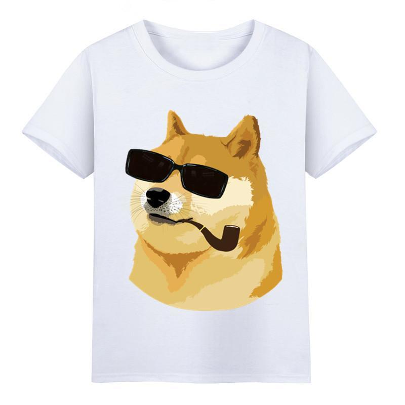 94412a9f1 New 2018 Fashion Summer Ready Stock,Men's Funny Doge Print T-shirts Women  Soft Male Casual Animal Print Clothing Cool xxxtentacion tshi