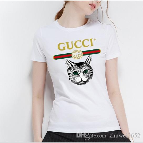 Shirt Donna In Acquista Cotone Moda Estate T 2018Carina Da g6bfYv7y