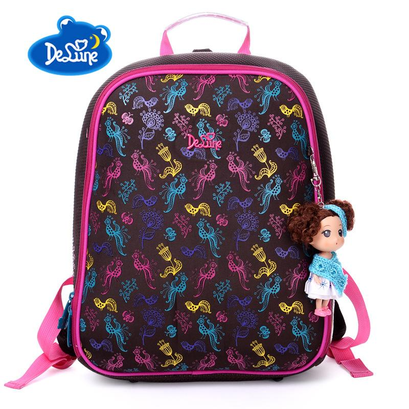 92cfc8834d2 Delune Children BackpacHigh Quality School Bag For Girls Primary Students  School Bags For 1 3 Grade Kids Orthopedic Schoolbag Man Bags Jute Bags From  ...