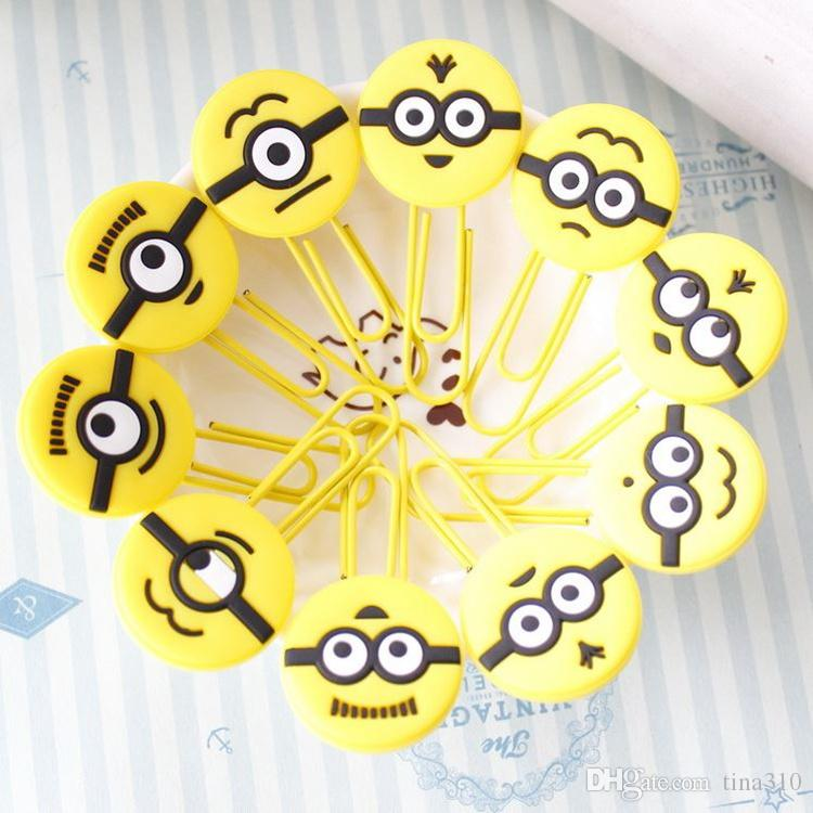 La oficina creativa de la historieta que aprende el marcador de los efectos de escritorio Corea del sur clip del boutique Paquete de expresión de la historieta pin T4H0313