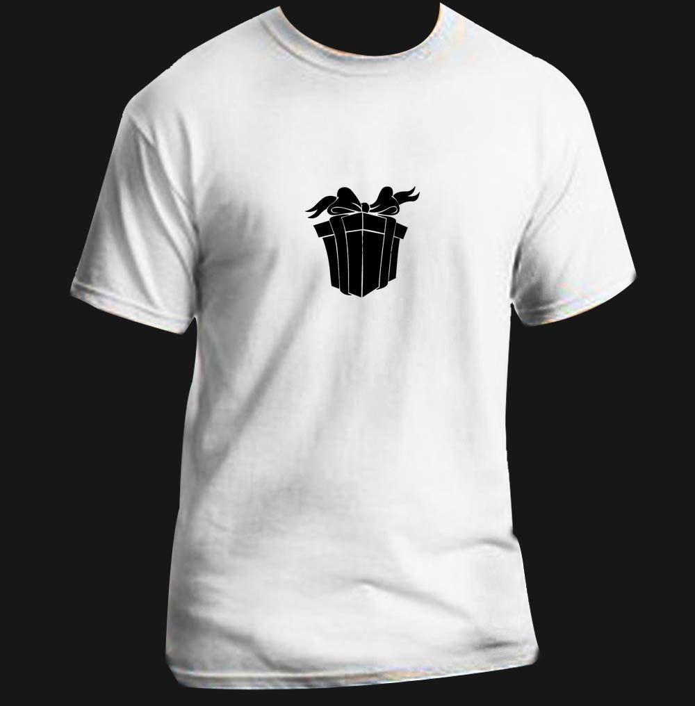 31d4ca59 Present Funny T Shirt Adult Black White Custom Christmas Clothes T Shirt  Crazy T Shirts Designs From Yuxin02, $13.8  DHgate.Com