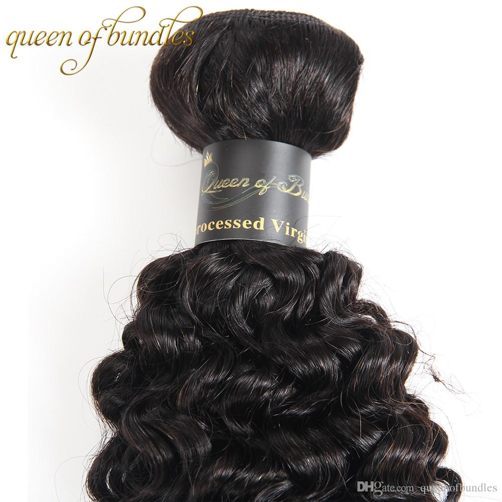 Curly Human Hair Extensions Brazilian Indian Mongolia Peruvian Hair With 360 Lace Frontal Malaysian Virgin Hair Kinky Curly With Closure