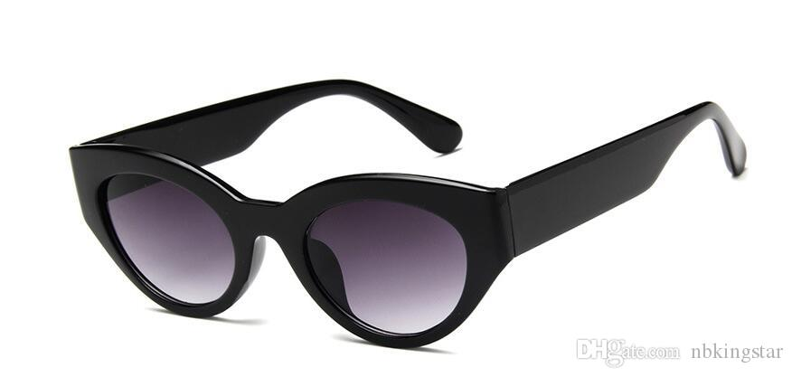 Legal Na Moda Cat Eye Sunglasses Mulheres 2018 Designer de Marca de Moda Retro Óculos de Sol Feminino UV400 óculos de Sol