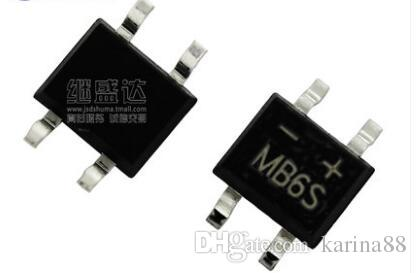 SMD MB6S 0.5A 600V Single Phases Diode Rectifier Bridge SOP-4 NEW ...