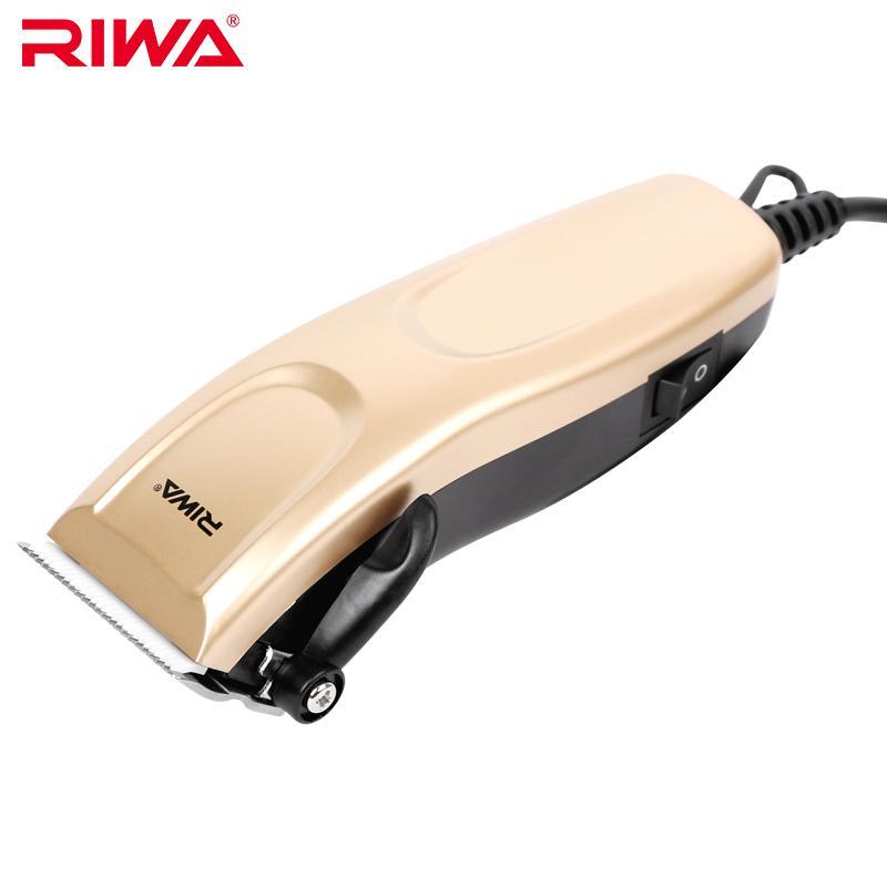 Riwa Cord Hair Clipper Stainless Steel Ceramic Blade Haircut Machine