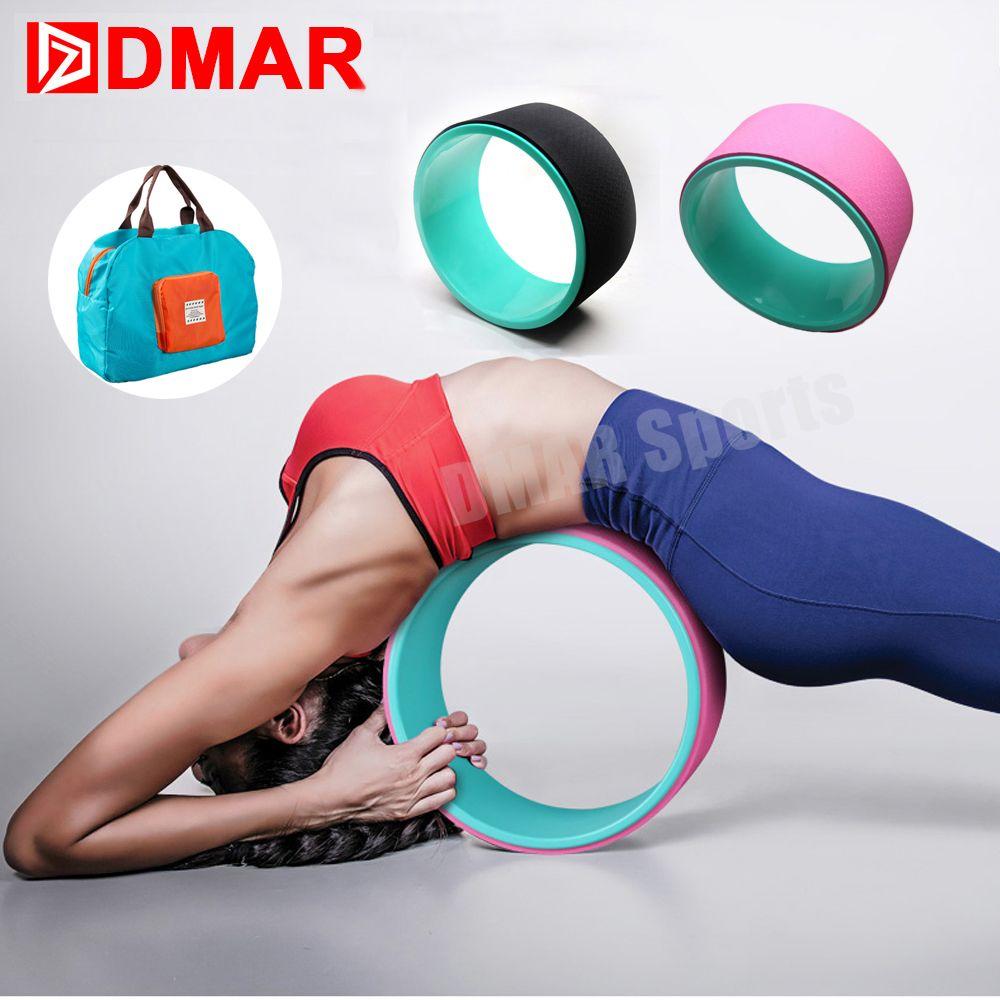 Compre DMAR Rueda De Yoga Anillo Círculo 33   13 Cm Deportes Fitness  Equipment Gym Entrenamiento Herramienta De Entrenamiento Productos Yoga  Accesorios ... 50d3cf2c8748