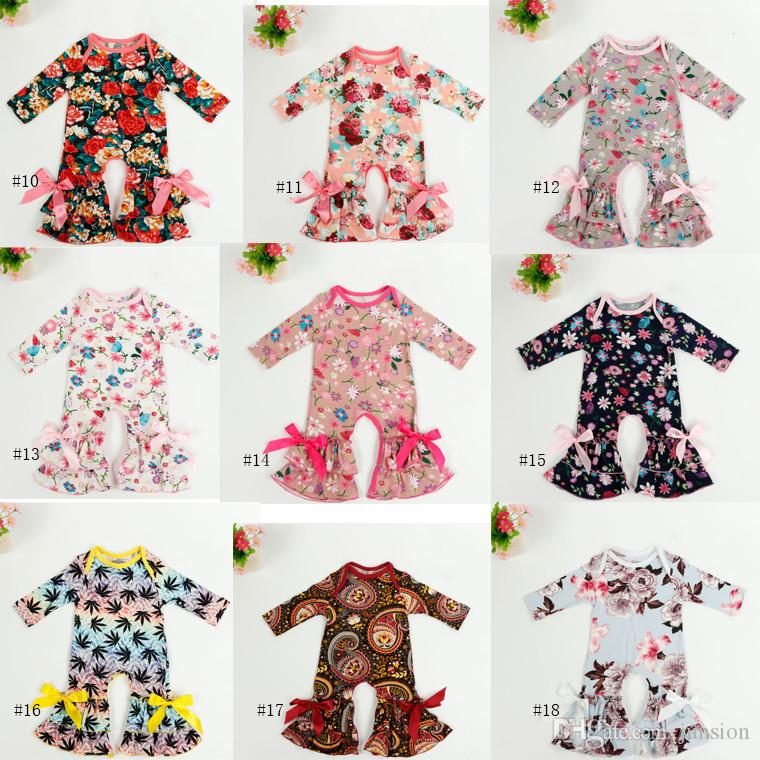 Compre Hot Sale Girls Rompers Baby Easter Pajamas One Piece Longe Sleeve  Romper Infant Toddler Foto Vestuário Onesies Baby Clothing Bodysuits 0 3M  De ... ff3870337eaf