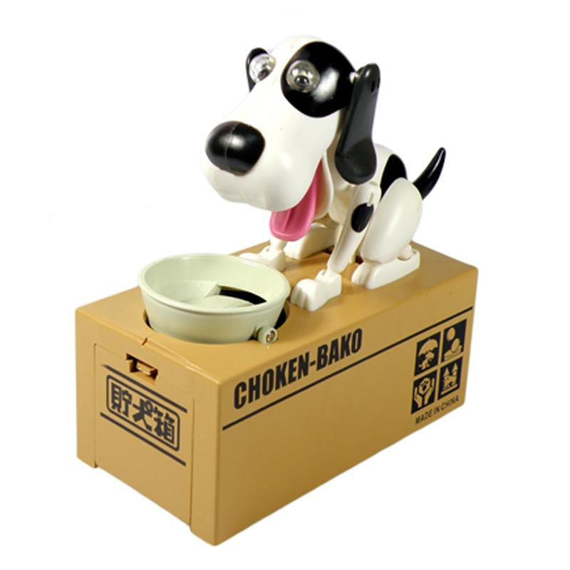 Home Decor Boxes 1pc Robotic Dog Money Saving Box Money Bank Automatic Stole Coin Piggy Bank Moneybox Toy Gifts for Kids