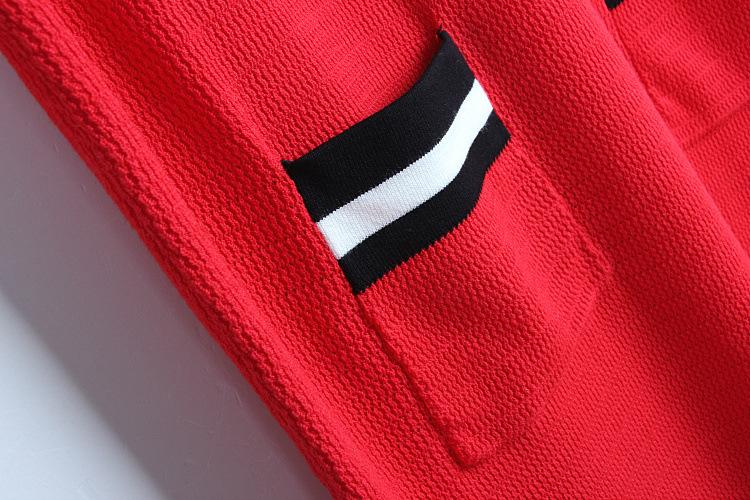 2018 Summer Embroidery Dress Black Red Crew Neck Above Knee Short Sleeve Empire Casual Prom Fashion Women's Pullover Kints DL