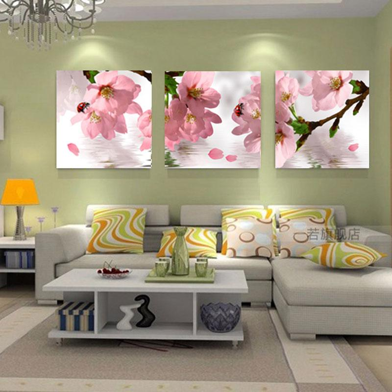 Flowers Canvas Painting Wall Art Canvas Prints Modern Wall Paintings For Living Room Home Decorative Pictures No Frame Hy62