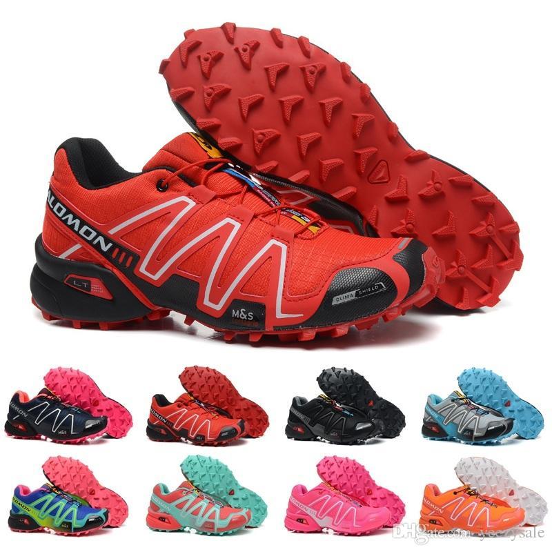 2018 Frauen Schuhe Salomon PRO Peedcross 3 Trail Beste Qualität Männer Outdoor Laufschuhe Ein Jogging Sport Mode Turnschuhe Outdoor Wandern