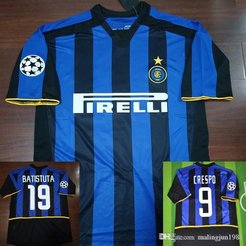 079f84bf861 2019 02 03 Soccer Jersey Inter Del Piero Nedved Trezeguet Davids Retro  Jersys 2002 2003 Champion Final Vintage Classical Football Shirts Camiseta  From ...