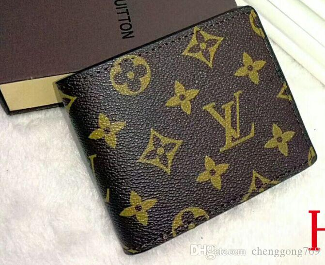 1ac7aac79c66 2019 Wallets Purse Men Wallet New Brand PU Leather Wallet