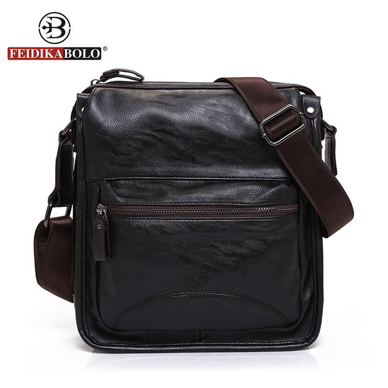 dc4ae2d423eb FEIDIKA BOLO Brand Messenger Bag Men Brown Handbags Men Crossbody Bags  Luxury Handbags Designer Black Sling Shoulder Bag Men Crossbody Bag Brand  Shoulder ...