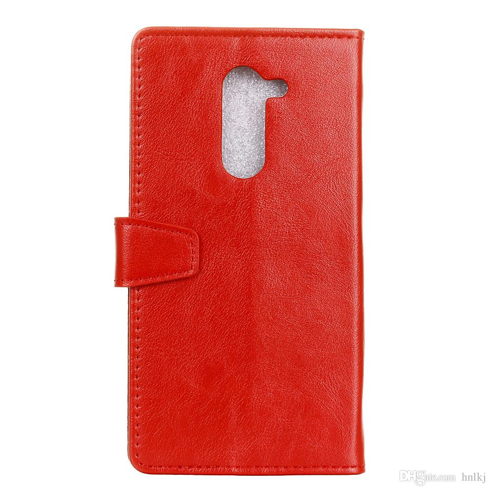 Brand New Crazy Horse + soft TPU Wallet Leather Cover case For Nokia 7plus