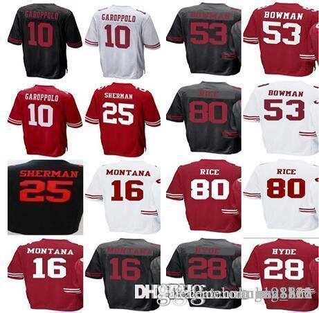 df2fc2671 Men s Womens Kids San Francisco 49ers Jerseys 25 Richard Sherman 10 ...