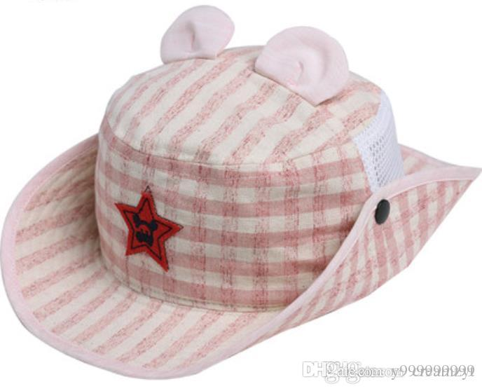 New Summer Summer Sun And Hat For Babies And Girls Fashionable Fabric  Comfortable And Gentle Care For Small Head UK 2019 From Y999999999 67052942b