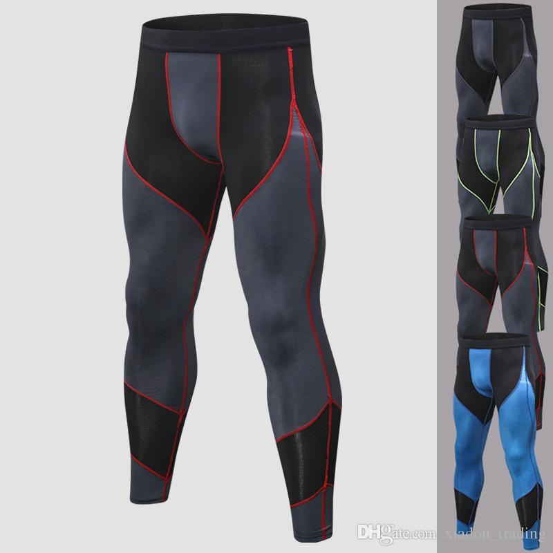 9f93b73912 2019 Men'S Pants Sport Tights Basketball Gym Trousers Bodybuilding Jogging  Skinny Leggings Sportswear Men'S Running Pant Male Outdoor Sweatpants From  ...
