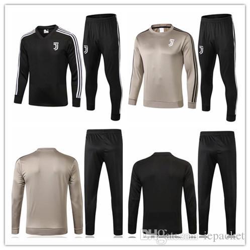 c22461ef4 New 2018 2019 Juventus Soccer Jacket Training Suit 18 19 RONALDO ...