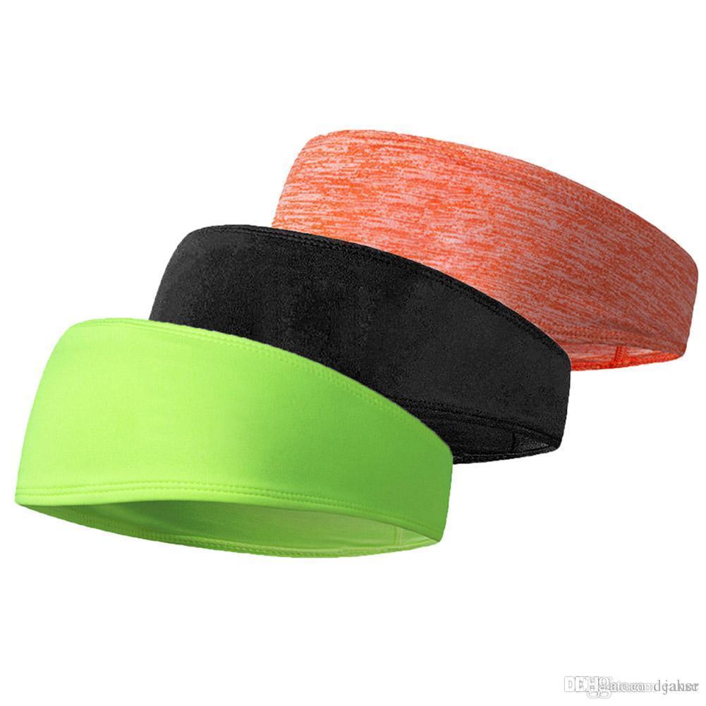 2c614b692313 2019 Non Slip Design Sweatband Headband Hair Elastic Fitness Sports Yoga  Hair Bands Gym For Women Men 2018 From Jakse