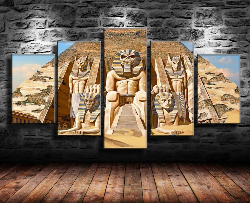 Satın Al Demir Kızlık Mısır Piramitleri 1 Parça Ev Dekorasyonu Hd