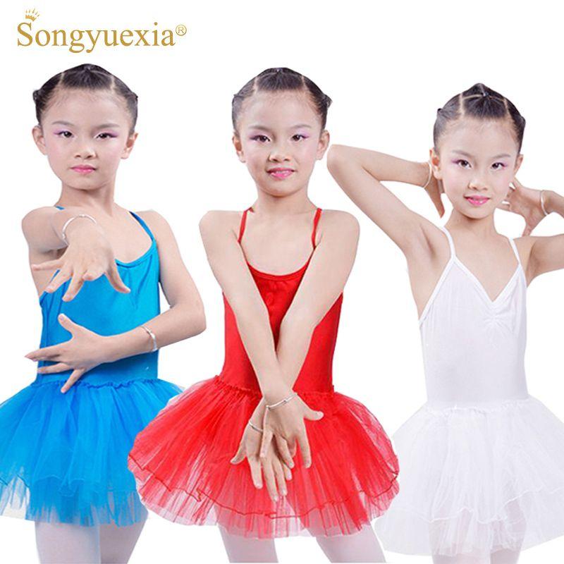 19bdf2d98 2019 2017 Enfant Ballet Ballerina Tutu Dress Girl Leotard Gymnastics ...