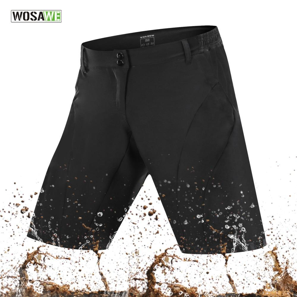 WOSAWE 2018 Cycling Shorts Outdoor Sports MTB Mountain Bike Ropa Breathable  Loose Fit Running Bicycle Shorts Ciclismo Bike Short Padded Cycle Shorts  From ... ef9c4fe07