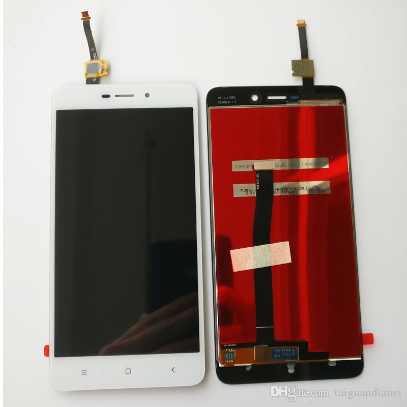 Touch Screen Glass And LCD Display Digitizer Assembly For Xiaomi Redmi 4A Black White Gold Color 5.0 inch 1280*720