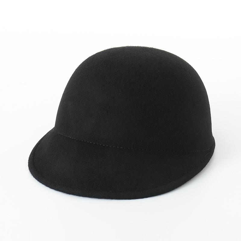b894589be96c6 The New Korean Version of Autumn And Winter Casual Simple Fashion Wool  Sports Cap Ladies Felt Horse Hat Online with  19.46 Piece on Qiuqiu19 s  Store ...