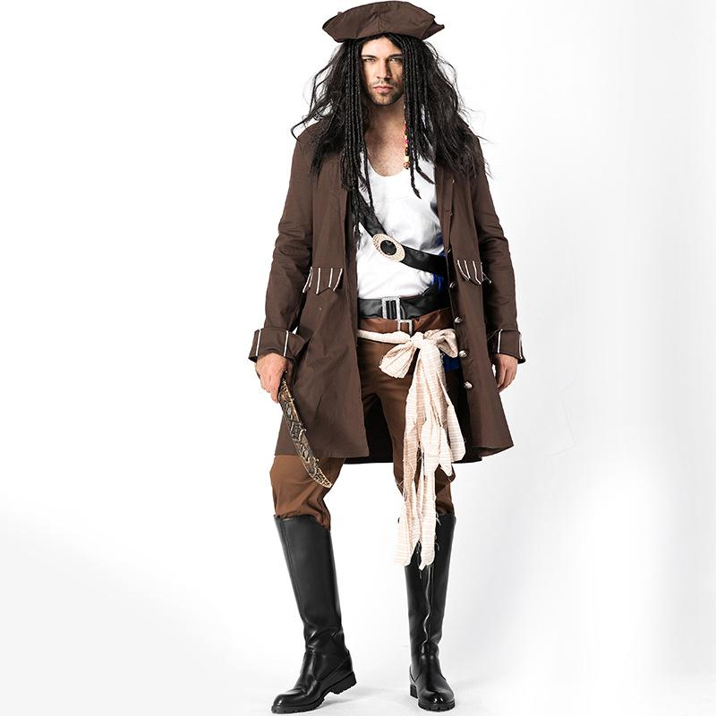 BARBRA: Jack sparrow adult costume