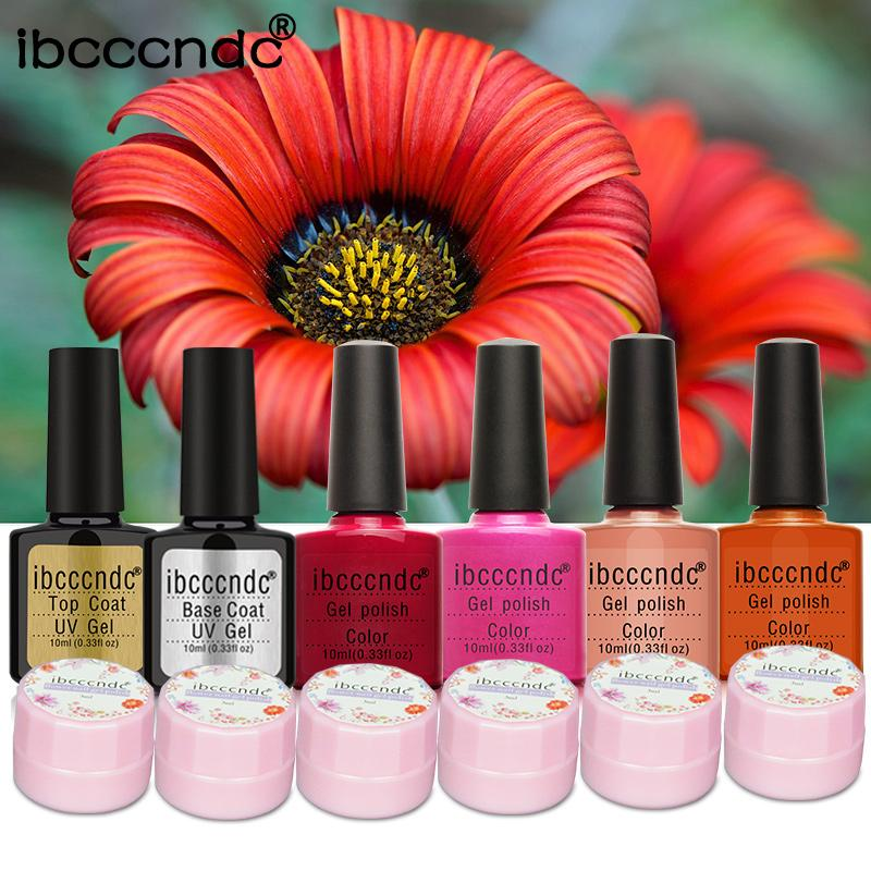 Wholesale Diy Natural Dried Flower Fairy Nail Gel Polish Set With 10 ...